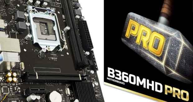 Carte mère B360MHD Pro de Biostar