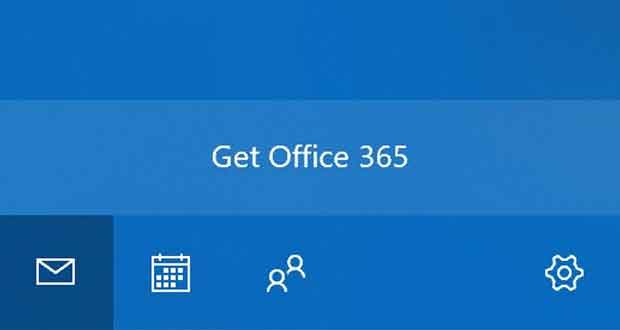 Courrier pour Windows 10, Microsoft teste la publicité