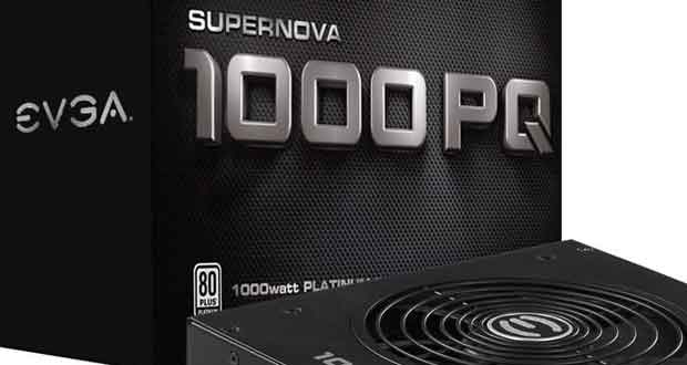 Alimentation PQ Series d'EVGA
