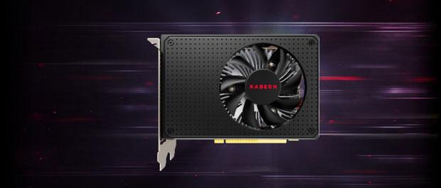 Radeon RX 550X d'AMD