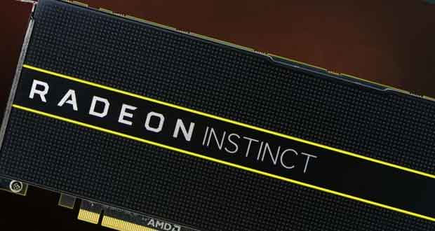 Radeon Instinct - l'adoption du 7 nm