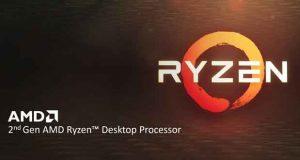Processeur Ryzen de 2ème génération dont le Ryzen 7 2700X