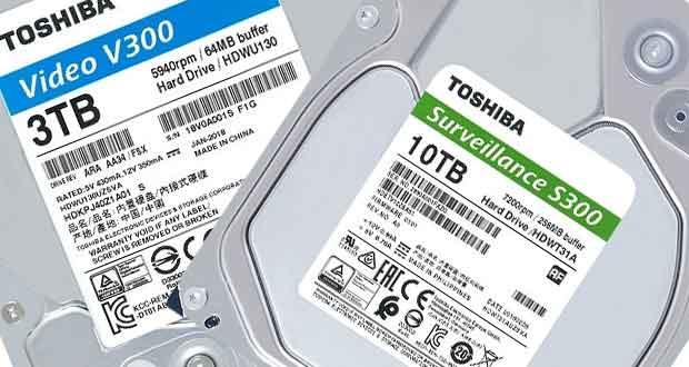 Disques durs V300 et S300 de Toshiba