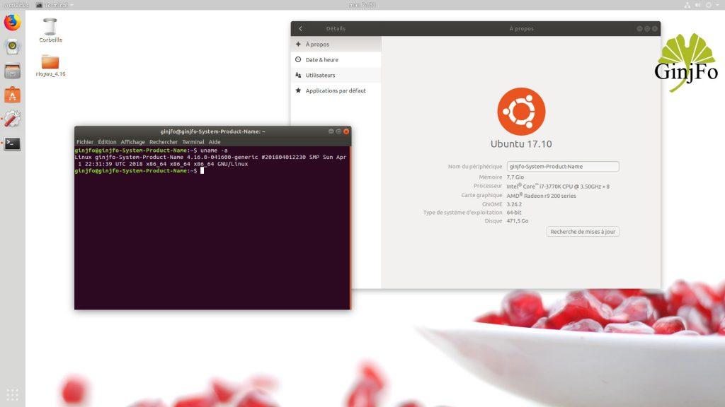 Ubuntu, comment installer le noyau Linux 4.16 ?