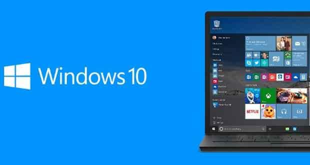 Système d'exploitation Windows 10 de Microsoft