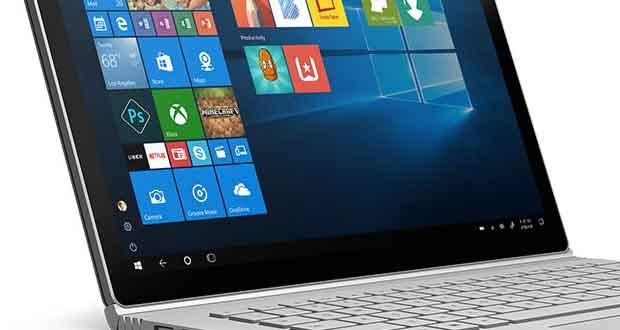 Windows 10 - Surface book