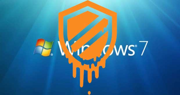 Windows 7 et la faille Meltdown