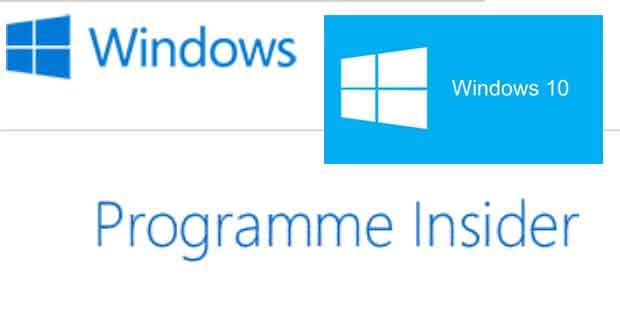 Windows 10 et le programme Insider