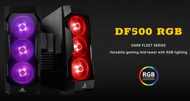 Boitier DF500 RGB d'Antec