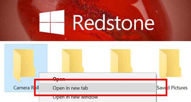 Windows 10 Redstone 5, comment va fonctionner les onglets dans l'explorateur de fichiers ?