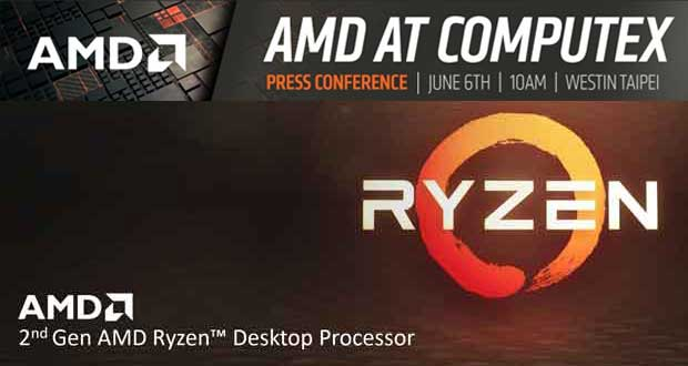 Computex 2018 - AMD annonce une grande conférence de presse