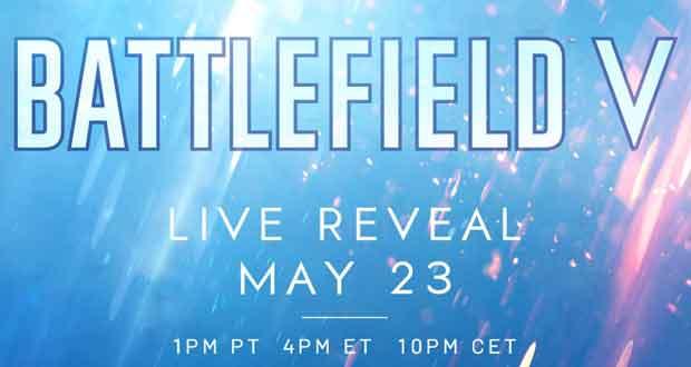 le live de révélation de Battlefield V