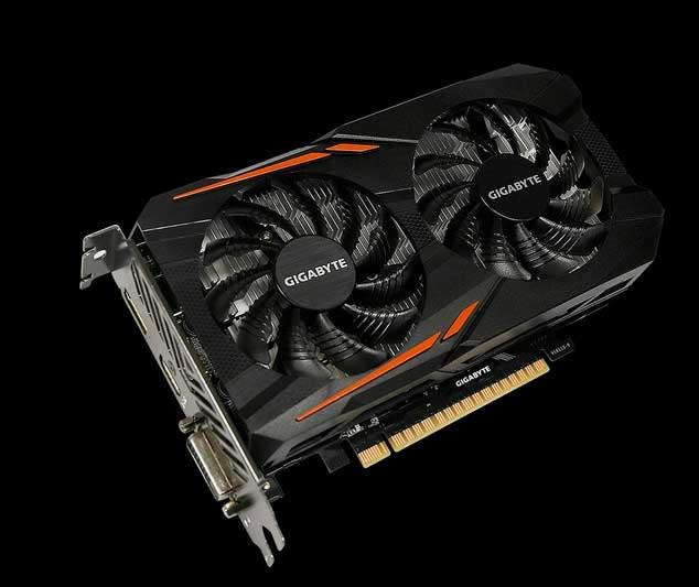 GeForce GTX 1050 3 Go OC de Gigabyte