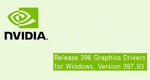 Pilotes graphiques GeForce 397.93 WHQL