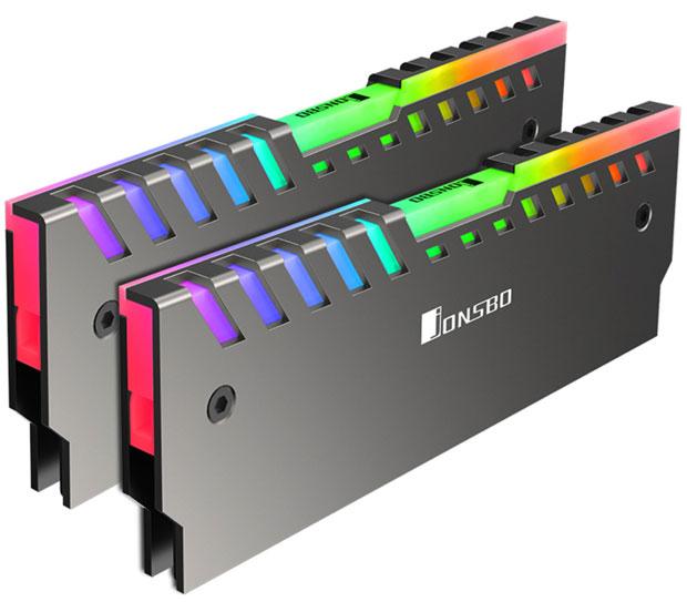Dissipateur thermique DDR4 RGB NC-2 de JonsboDissipateur thermique DDR4 RGB NC-2 de Jonsbo