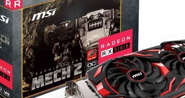 Radeon RX 580 MECH 2 8G OC