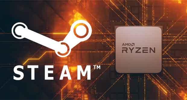 Processeur AMD Ryzen - Plateforme Steam