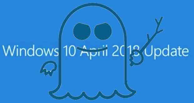 Windows 10, correctifs contre la faille Spectre des processeurs Intel