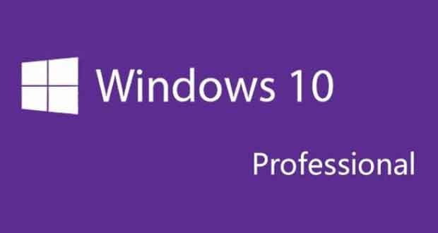 Système d'exploitation Windows 10 Pro