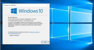 Windows 10 v1803