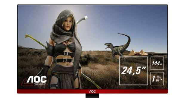 Moniteur gaming G2590FX d'AOC