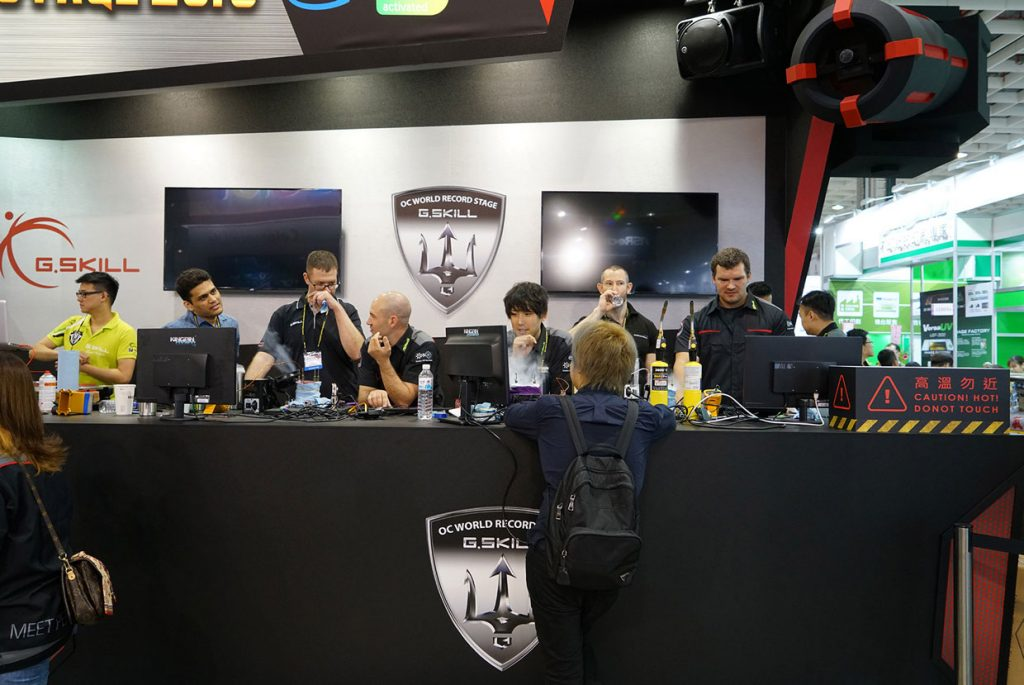 Computex 2018 – 13 records du monde en overclocking ont été battus.