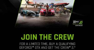 GeForce GTX 1080 et 1080 Ti, Crew 2 sera offert.
