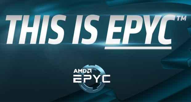 EPYC, processeur pour serveur d'AMD