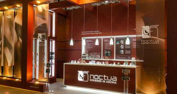 Stand Noctua au Computex 2018