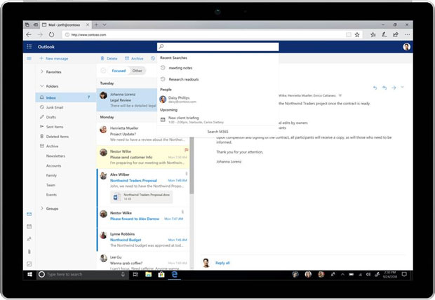 Updates to the Microsoft Office user experience - Fluent Design