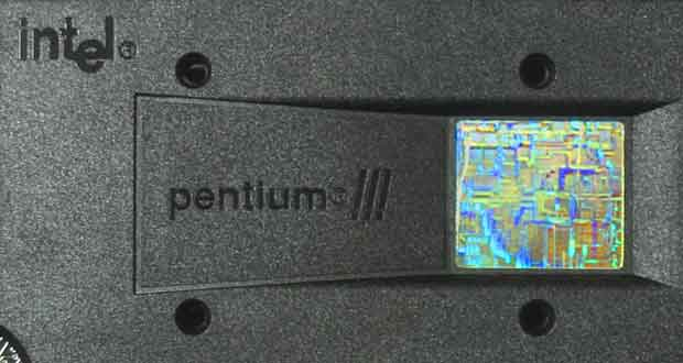 Processeur Intel Pentium III à 733 MHz