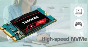 SSD OCZ RC100 NVMe M.2 de Toshiba