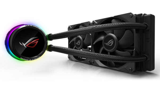 Watercooling AIO ROG Ryuo 120 et 240 d'Asus