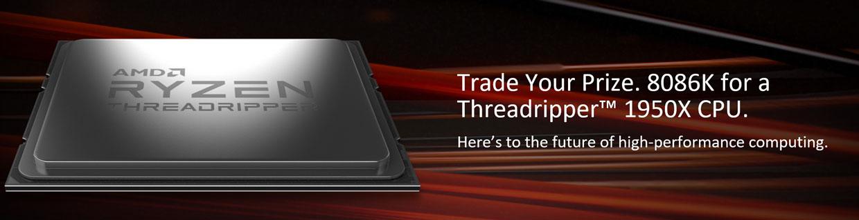 Ryzen Threadripper 1950X d'AMD