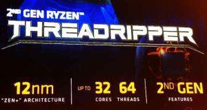 Processeur Ryzen Threadripper de deuxième génération