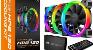 Pack Vortex RGB HPB 120 mm de Cougar