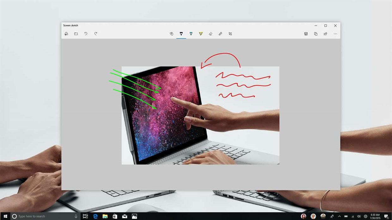 Windows 10 - Icône du centre de controle