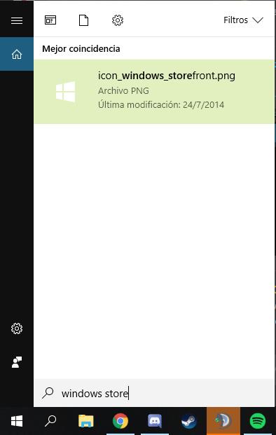 Windows 10 - Module Recherche