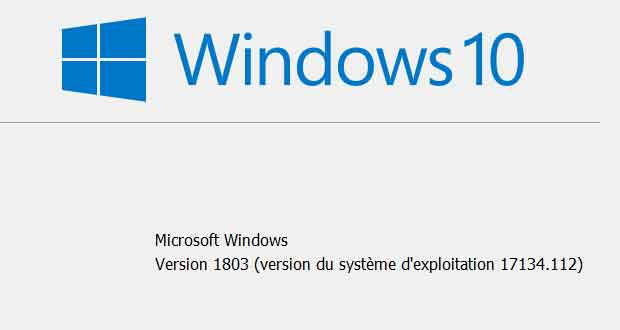 Windows 10 v1803 alias April 2018 Update