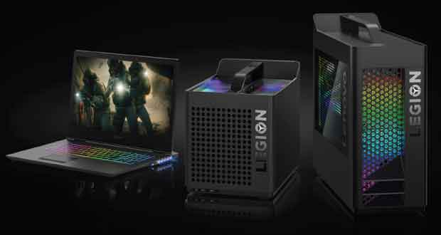 PC Gaming Legin T730 et Legion T530 de Lenovo