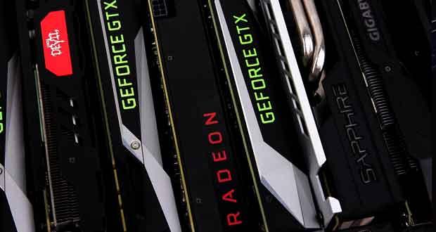 Cartes graphiques GeForce GTX et Radeon