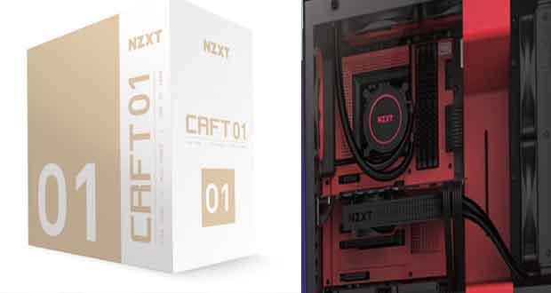 CRFT, une ligne de produits gaming NZXT sous licences officielles et en édition limitée