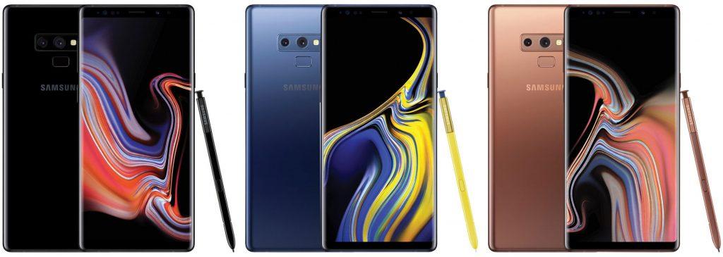 Galaxy Note 9 de Samsung - Evan Blass @evleaks