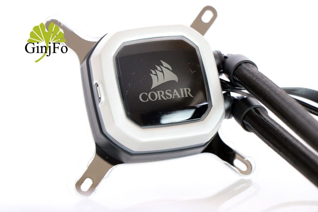 Hydro Series H100i Pro RGB de Corsair