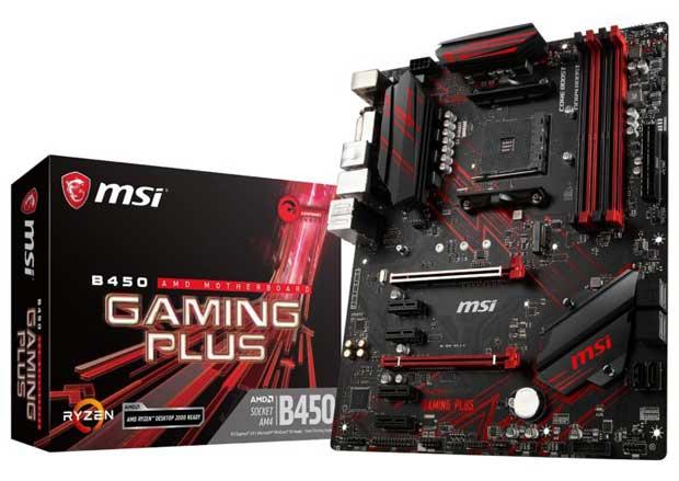 Carte mère MSI Performance Gaming B450 Gaming Plus