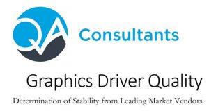 "QA Consultants – Etude ""Graphics Driver Quality"""