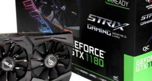 Rog Strix Gaming GeForce GTX 1180 d'Asus ?