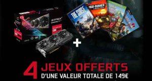 ROG Strix Radeon RX - Opération quatre jeux offerts