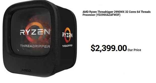 Ryzen Threadripper 2990X - Précommande