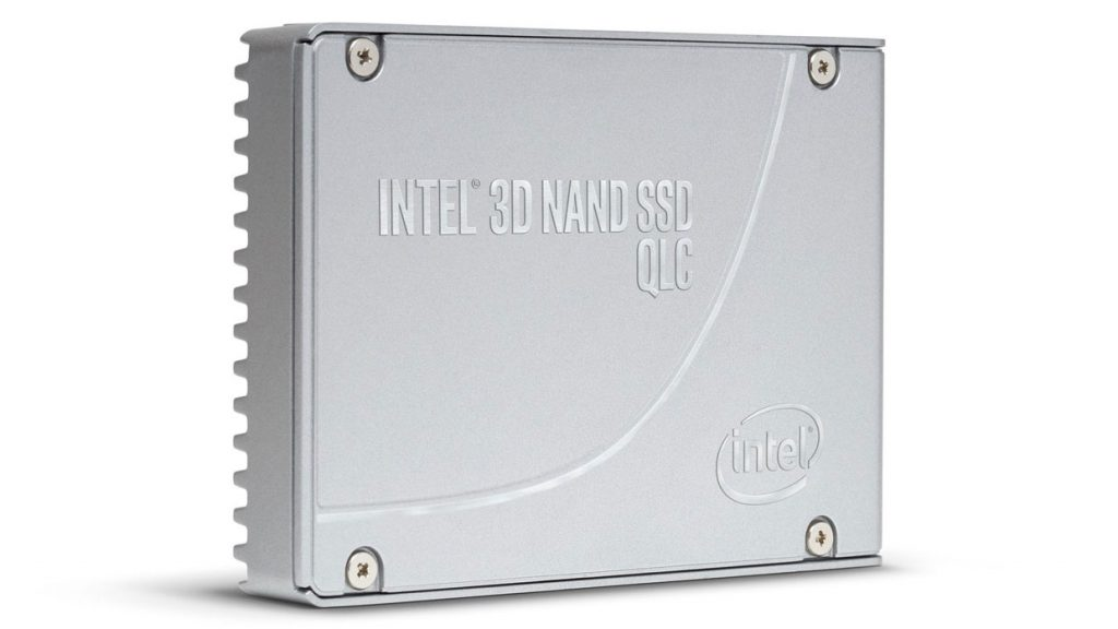 SSD Intel NAND Flash 3D QLC